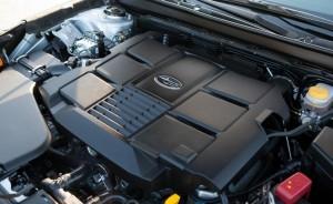 '16 Legacy 3.6 engine pic
