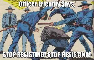 stop resisting!