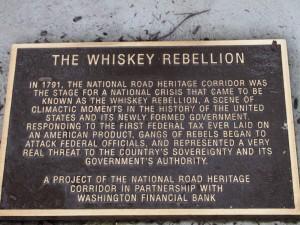 whiskey plaque