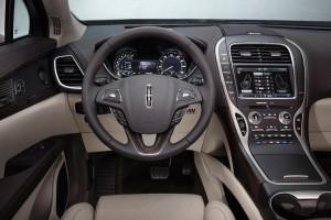'16 MKX interior detail