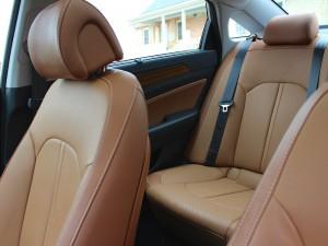 '16 Sonata back seats