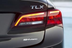 '16 TLX SH AWD detail