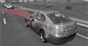 automated braking image