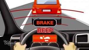 brake beep!