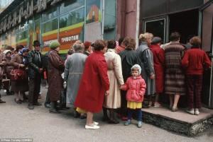 soviet bread lines