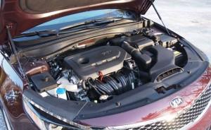 '16 Optima 2.4 liter engine