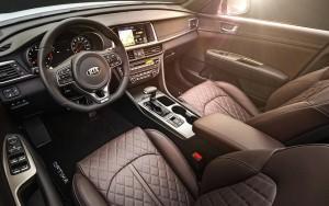 '16 Optima interior detail