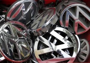 VW badges