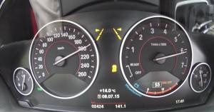 '16 340i gauge cluster