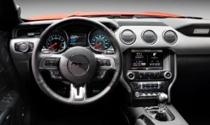 '16 Mustang interior 1