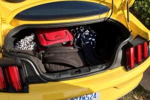 '16 Mustang trunk