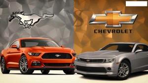 '16 Mustang v. camaro