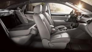 '16 Sentra back seats