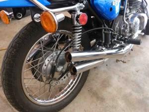 '75 S1 250 detail