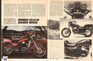 '83 Honda Silverwing ad