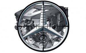 Mercedes crosshair