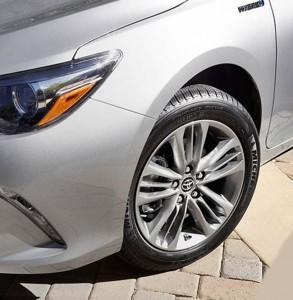 '16 Camry XLE wheels