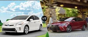 '16 Camry vs. Prius