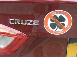 '16 Cruze Clover