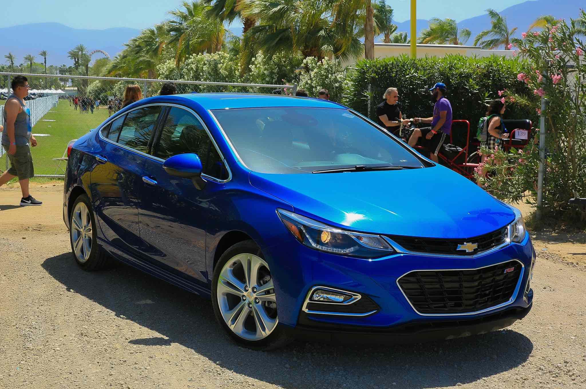 Chevrolet Cruze Launch Event Coachella