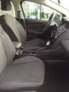 '16 Focus front seats