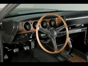 1971 Chalenger interior