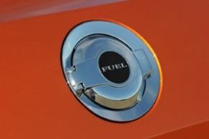 Challenger fuel door