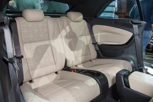 '16 Cascada rear seats