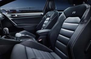 '16 Golf R interior details