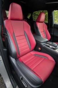 '16 NX200 seats