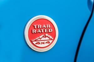 '17 Renegade trail rated badge