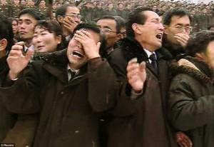 North Korean funeral