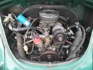 classic Beetle engine