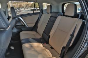 16 RAV4 back seats