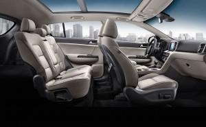 '17 Sportage interior cut-away