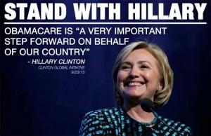 Hillary obamacare