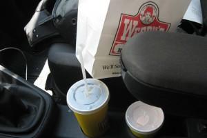 bag on seat