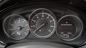 '17 CX-9 gauges