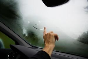 fogged-windshield